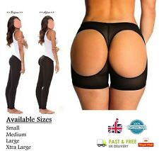 BUTT LIFTER Underwear Big Bum Booty Enhancer Bum Shaper Knickers Pantie BLACK