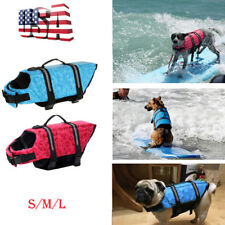 Pet Dog Life Jacket Safety Clothes Vest Summer Clothes Swimming Float Preserver