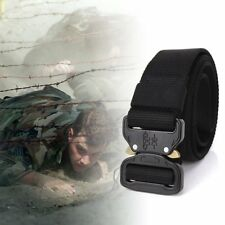 Adjustable Nylon Waist Belt Tactical Belt Multifunction Outdoor Training Belt KK