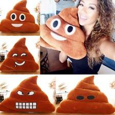 Poop Poo Family Emoji Emoticon Pillow Stuffed Plush Toy Soft Cushion Doll Gift