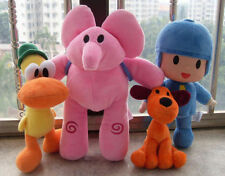 Pocoyo Elly Pato Loula Plush Toy Stuffed Doll Soft Figure 4 Kinds Kid Gift USA