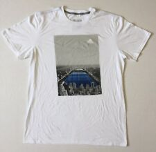 NEW Mens adidas Go To Performance Tee NYC Central Court Graphic Size L-2XL