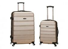 Rockland Luggage Melbourne F225 Two-Piece Expandable Hardside Spinner Set...