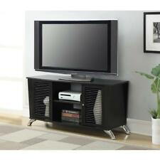 """Convenience Concepts Designs2Go TV Stand for TVs up to 50"""", Black Voyager"""