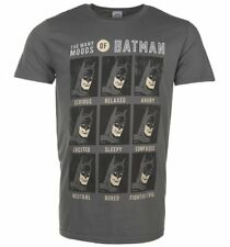 Official Men's The Many Moods of Batman T-Shirt