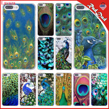Lavaza Pretty Peacock Scenery Hard Coque Shell Phone Case for Apple iPhone 8 7: