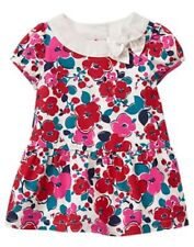 NWT Gymboree Precious Prep Floral Dress Baby Girl Toddler 0 3 6 12 18-24M