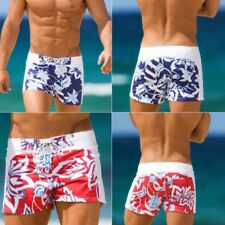 Mens Summer Beach Short Swimwear Swimming Trunks Floral Swim Pants Sports Boxer