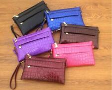 Patent Leather Crocodile Pattern Removable Strap Handbag Shoulder Messenger Lady