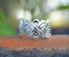 8 Band Sterling Silver Puzzle Ring in sizes 5, 6, 7, 8, 9, 10, 11, 12