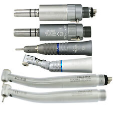 Dental Led High Speed Handpiece Pana Max + EX-203 Low Speed Kit 2 4 Hole NSK W&H