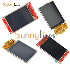 "2.4"" 240x320 SPI Serial TFT LCD 3.3V 5V PBC ILI9341 Driver ± Touch Screen"