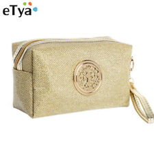 eTya Women Cosmetic Bag Travel Make Up Bags Fashion Ladies Makeup Pouch Neceser