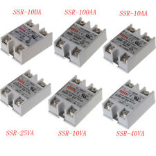 25A DC-AC 24V-380V SSR-25VA Solid State Relay Module For Temperature Controller