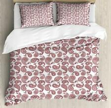 Paisley Duvet Cover Set Twin Queen King Sizes with Pillow Shams Bedding