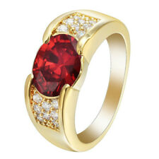 Wedding jewelry Cut Ruby Engagement Women's Gift Ring Ruby ring Size 6-10