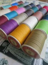 Fil au Chinois No.832 Waxed Linen Cable Leatherwork Thread 0.43 mm- 50g Spool
