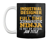 Cozy Industrial Designer - Only Because... Full Time Gift Coffee Mug
