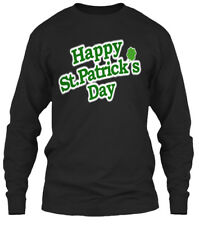 Happy St Patricks Day S - St.patricks Gildan Long Sleeve Tee T-Shirt