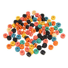 100pcs/Pack Colorful Rubber Grommets Nipples Tattoo Machine Needles Supplies