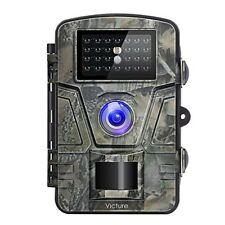 Trail Camera 1080P 12MP Motion Activated Night Vision20m with 2.4