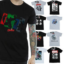 Avengers T-Shirt Mens Official Marvel Merchandise