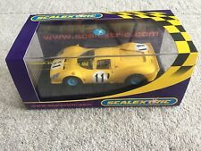 Scalextric C2787 Ferrari 330 P4 Yellow No.11