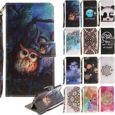 Pattern Leather Wallet Flip Magnetic Case Cover For Iphone 7 Plus Ipod Touch 5/6