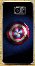 Captain America LOGO Pattern Hard Case Cover Coque Shell For All Phone Models