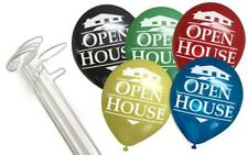Balloonie Kit w/ Open House Balloons (5 Stands and 25 Balloons)