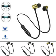 Bluetooth 4.2 Stereo Earphone Wireless Headset Magnetic In-Ear Earbuds Headphone