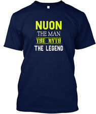 Printed Nuon Man - The Myth Legend Hanes Tagless Tee Hanes Tagless Tee T-Shirt