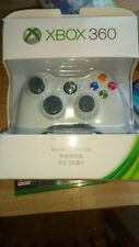 Microsoft Xbox 360 Wireless Controller Remote Black/White Brand NEW! UK Seller