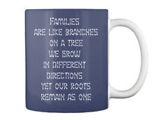 Transplant Fundraiser - Dohmlo Strong Families Are Like Branches Gift Coffee Mug