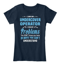 Soft Undercover Operator - I Am A Solve Problems You Women's Premium Tee T-Shirt