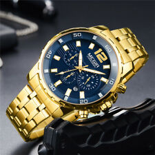 MEGIR Luxury Top Brand Chronograph Date Watch Men Sport Quartz Army Wristwatch