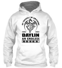 Daylin Legend Dragon Black Men Gildan Hoodie Sweatshirt