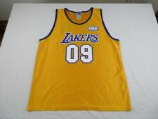 NBA Mens Los Angeles Lakers #09 Basketball Jersey Size XL Yellow Purple 2008-09