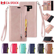 For Samsung S9 Plus Card Holder Wallet Flip Leather Stand Phone Case Cover CA