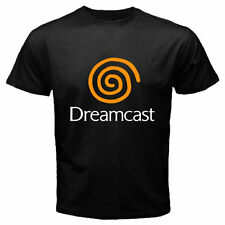 Limited New Sega Dreamcast Video Game Console Logo Men's Black T-SHIRTS S-5XL