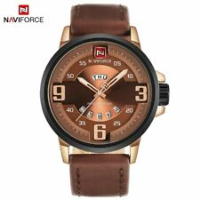Men Watches Sports Quartz Date Clock Male Leather Army Military Man Wristwatches