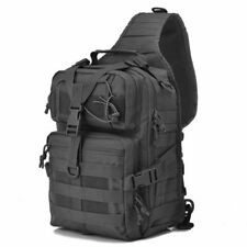 Military Tactical Assault Pack Sling Backpack Army Molle Waterproof EDC Rucksack