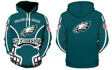 Philadelphia Eagles NFL Football Hoodie Sweater Pullover Fan's Edition