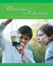 Motivation in Education: Theory, Research, and Applications (3rd Edition) by…