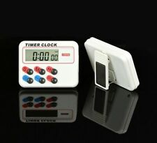 Kitchen Cooking Clock 12/24 Hours With Digital memory Funcation LCD Timer