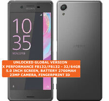 SONY XPERIA X PERFORMANCE F8131/F8132 Single/Dual Sim 3gb 32/64gb Smartphone Lte