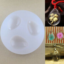 JN_ Unique Water Drop Mold for DIY Gem Resin Casing Pendant Jewelry Making Too