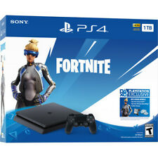 USA NTSC Sony PS4 Slim 1TB Neo Versa Fortnite Game Console Bundle Playstation 4