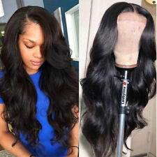 Lace Front Human Hair Wig Brazilian Body Wave Frontal Wigs Pre placked Baby Hair