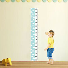Nordic Children Height Ruler Canvas Hanging Growth Chart Kids Room Wall Decors